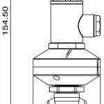 Polmac nozzle for washing tanks diagram