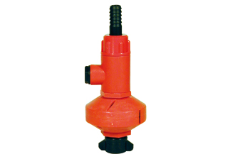 Polmac nozzle for washing tanks