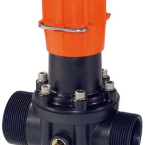 Polmac pressure valve with lock position